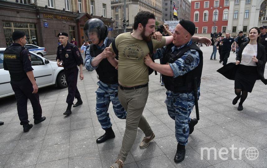 Дмитрий Энтео также был задержан.