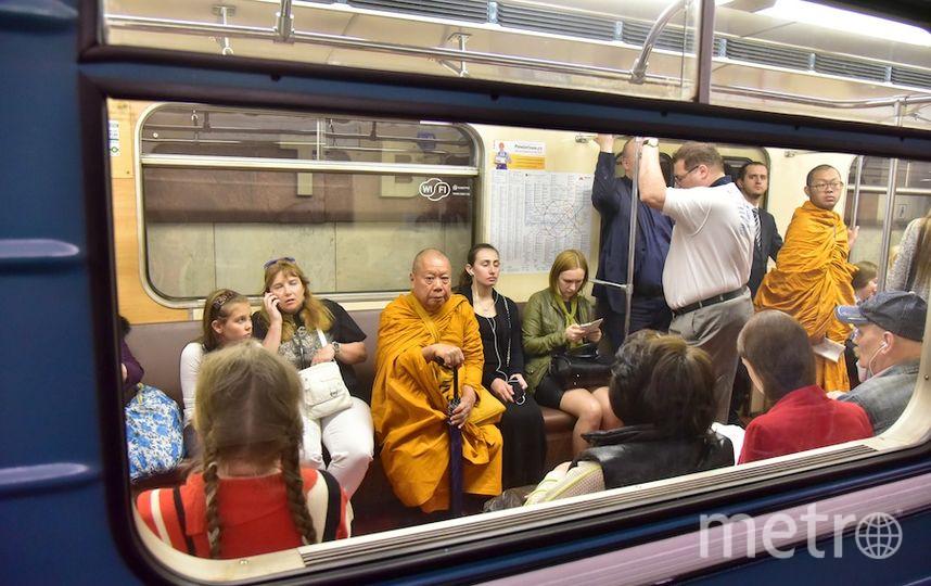 Смотреть порно московское метро