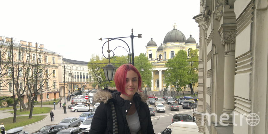 Ольга Морозова / в музее Анны Ахматовой.