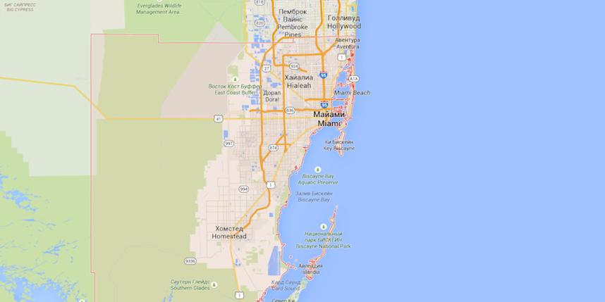 скриншот/ Google maps.