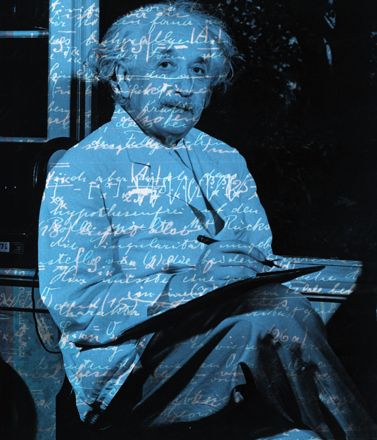 Harald Geisler, Corbis, used with permission of the Albert Einstein Archive, the Hebrew University o.
