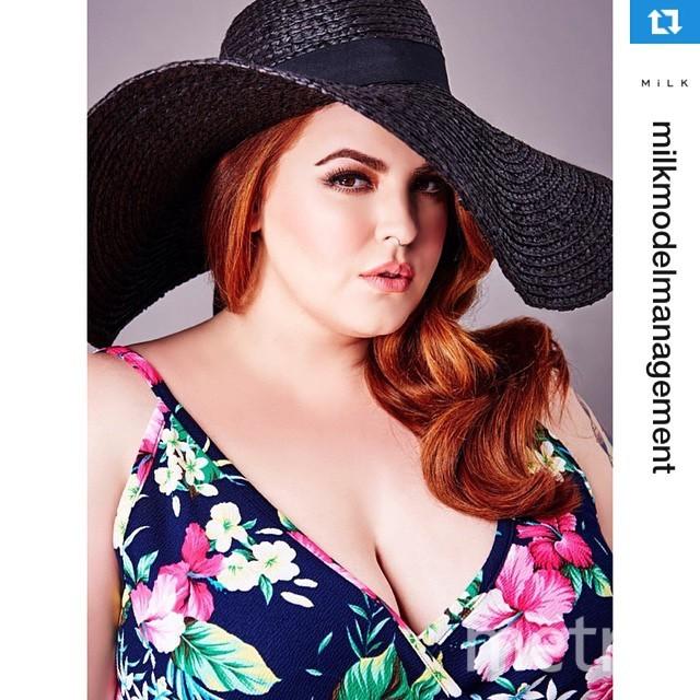 Instagram @tessholliday.