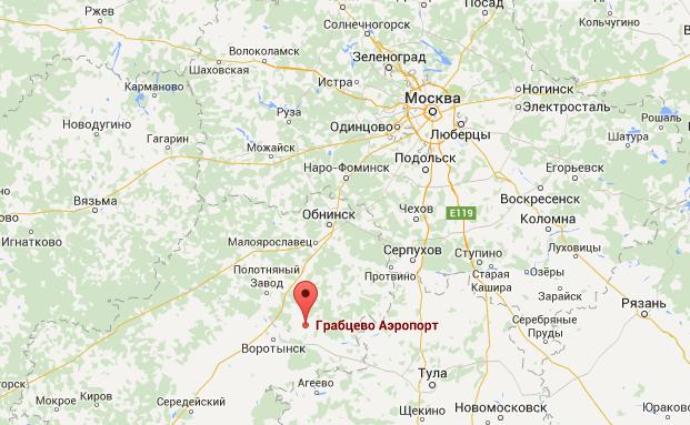 Скриншот maps.google.com.