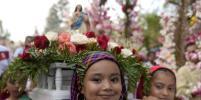 Фестиваль цветов и пальм прошёл в Сан-Сальвадоре