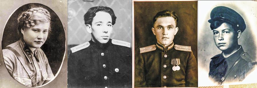 все фото - Василий Кузьмичёнок и личные архивы ветеранов.
