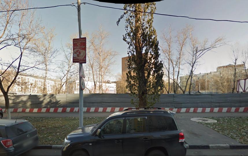 принтскрин с Google maps.