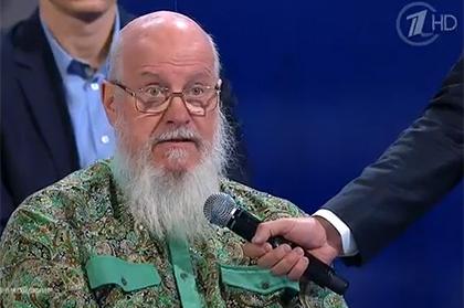 "скриншот видео ""Первого канала""."