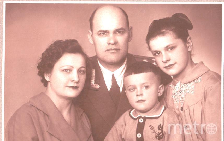 из семейного архива Виктора Леонидова.