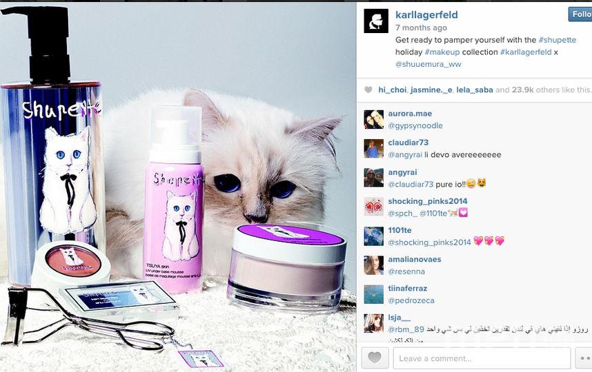 https://instagram.com/karllagerfeld/.