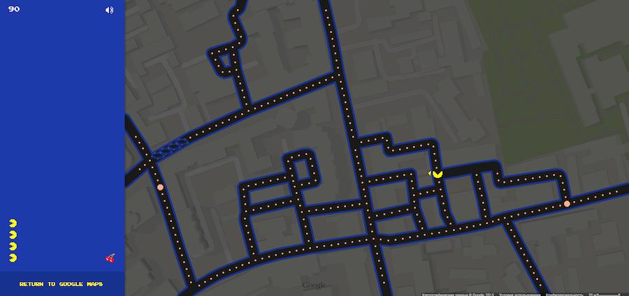 скриншот Googlemaps.