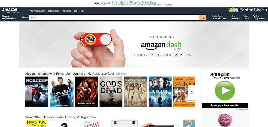 скриншот Amazon.