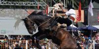 В Уругвае началось самое жестокое состязание людей с лошадьми