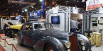На ретроавтосалон в Париже приехали европейские машины