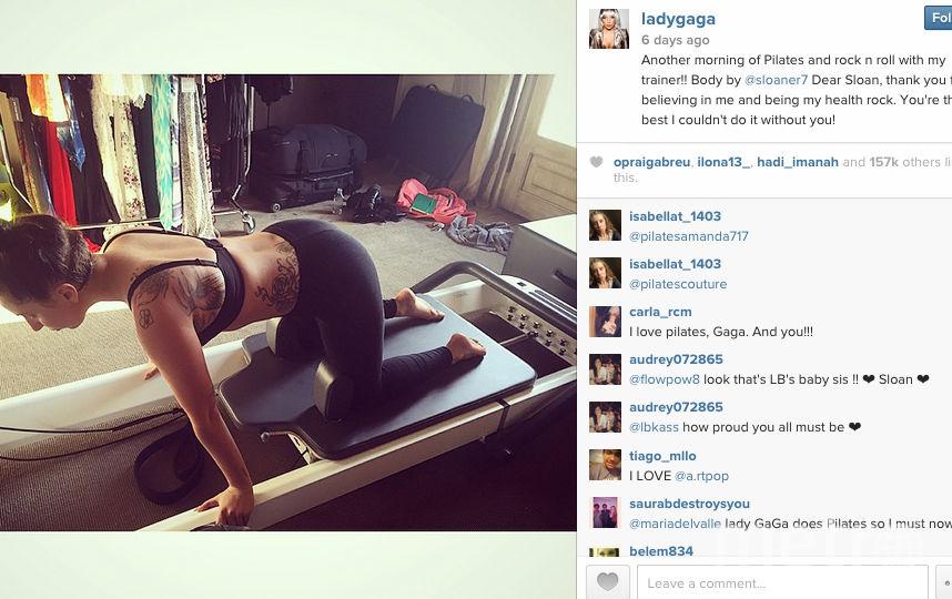 http://instagram.com/ladygaga.