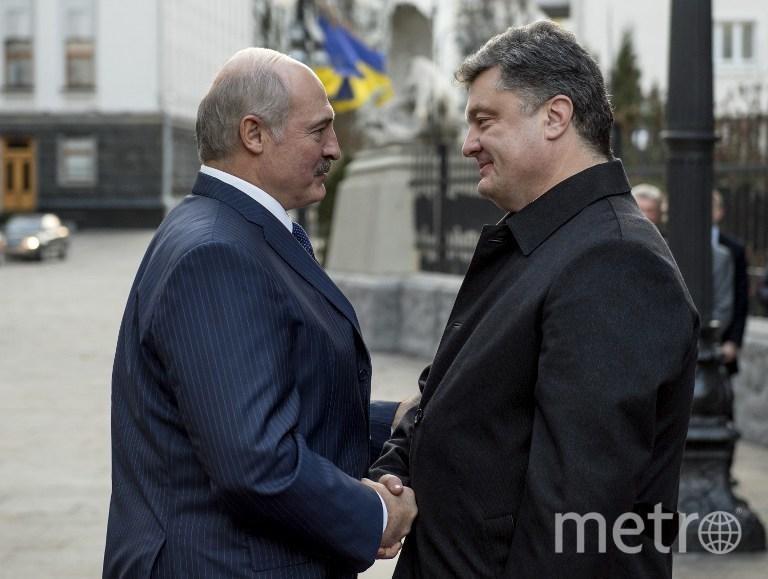 AFP PHOTO / UKRAINIAN PRESIDENTIAL PRESS SERVICE / MYKOLA LAZARENKO.