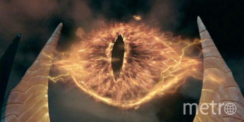 """кадр из фильма """"Властелин колец""""."""
