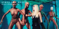Американский фотограф создаёт серии снимков, в главной роли которых секс-куклы (18+)