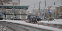 В Омске оптимизировали движение у Ленинградского моста