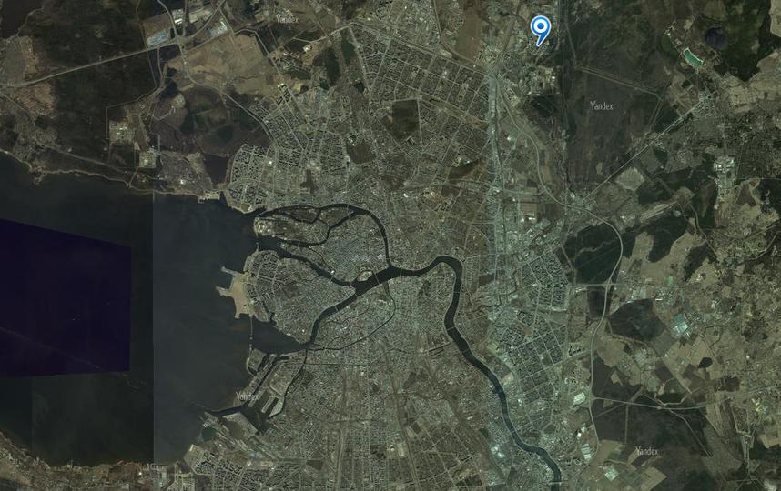 "Скриншот ""Яндекс.Карт""."