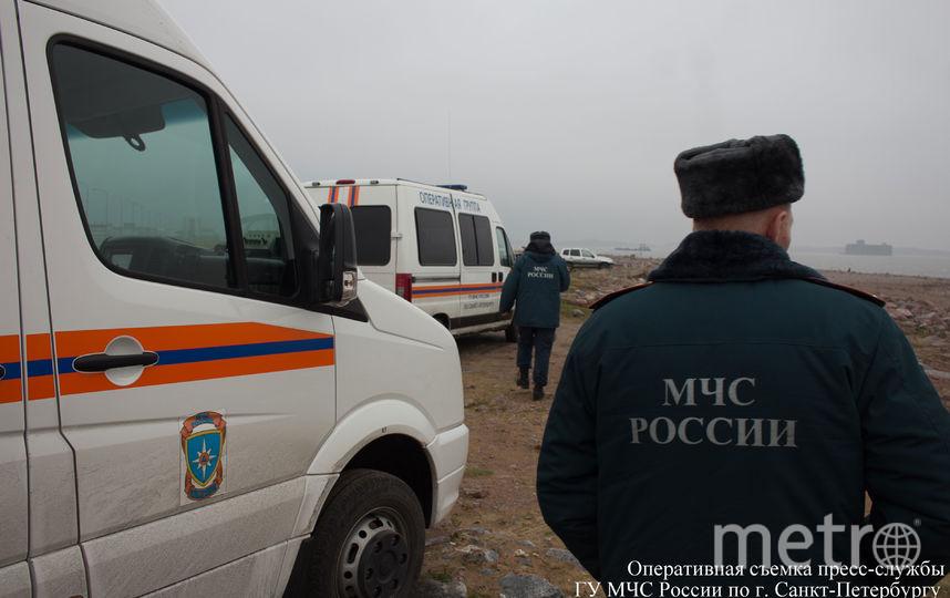Фото пресс-службы ГУ МЧС России по Санкт-Петербургу.