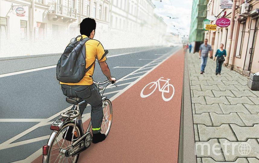 предоставлено «Велосипедизацией Санкт-Петербурга». Автор - Ольга Боева.