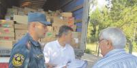 В Джанкой из Воронежа прибыл гуманитарный груз