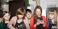 Газета Metro организовала для клиентов мастер-класс в кулинарной студии