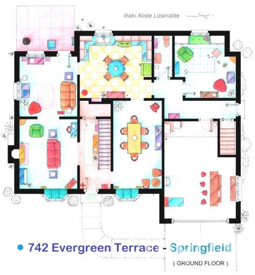 Схема домов в симс 4 из мультика