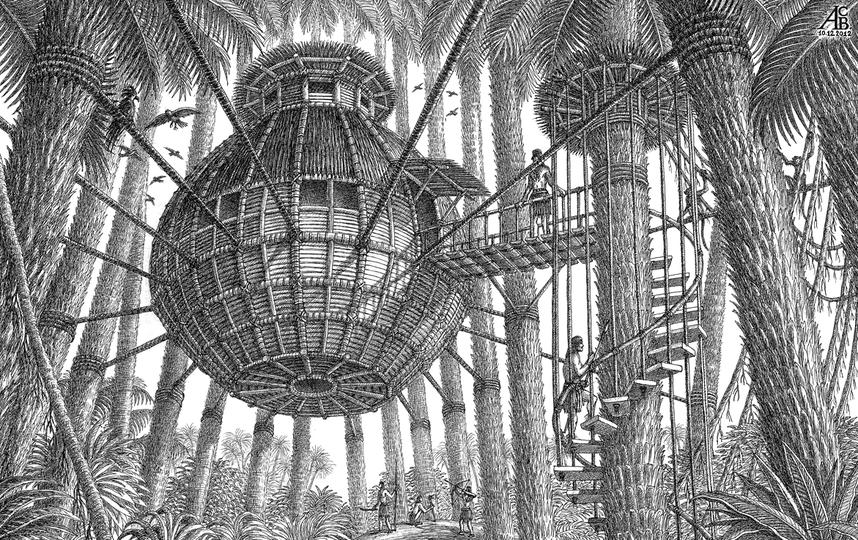 все - рисунки Артура Скижали-Вейса.