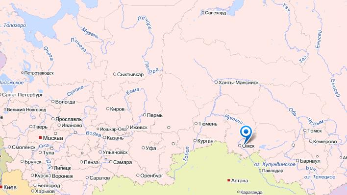 салехард на карте россии фото