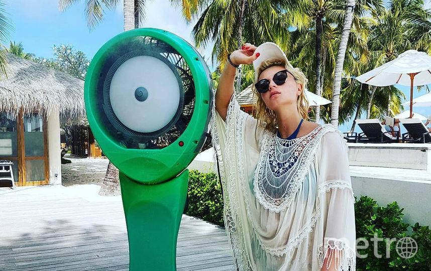 Полина Гагарина на Мальдивах. Фото instagram.com/gagara1987