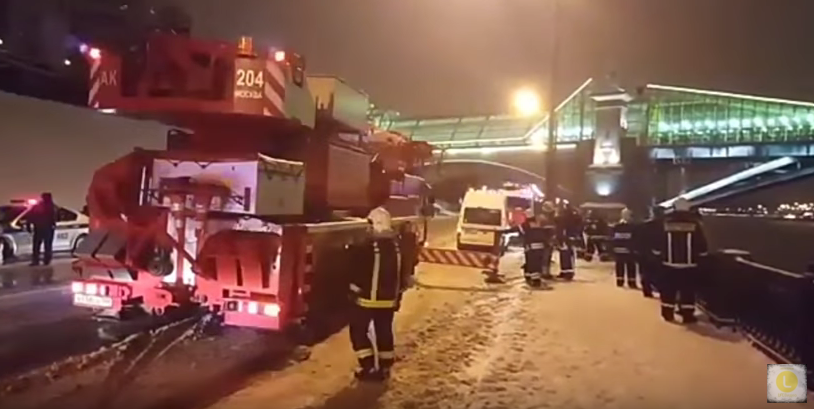 Место происшествия, Ростовская набережная. Фото скриншот с канала Life.ru на YouTube