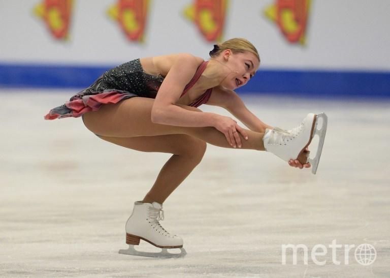 Россиянка Анна Погорилая на ЧЕ по фигурному катанию 2017. Фото AFP