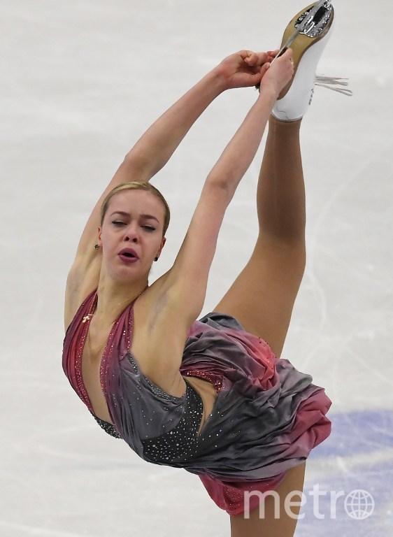 Анна Погорилая. Фото AFP