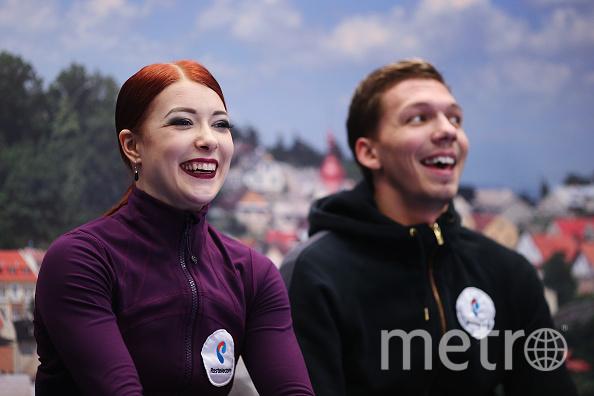 Боброва и Соловьев стали бронзовыми призёрами ЧЕ по фигурному катанию. Фото Getty