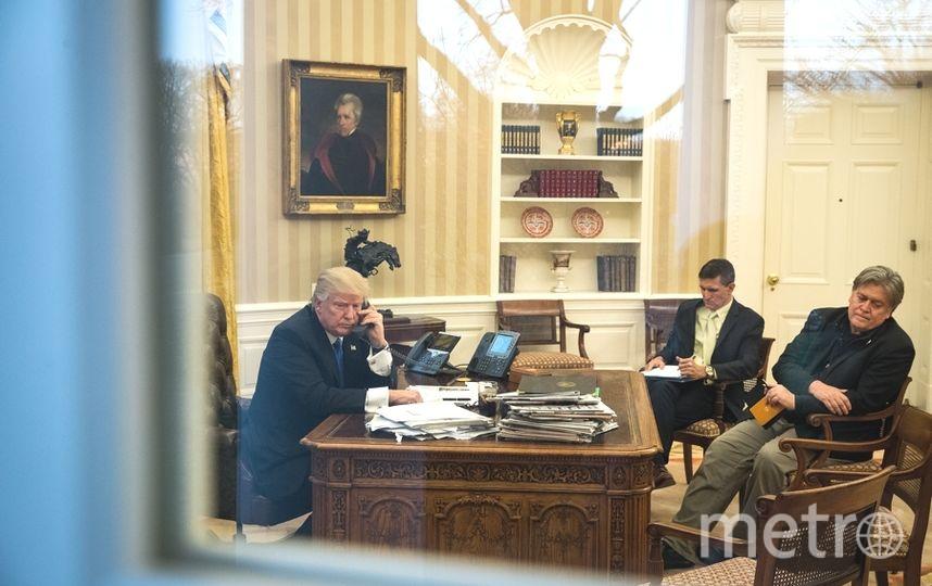Беседа Путина и Трампа, прошедшая 28 января, продолжалась около 50 минут. Фото Getty