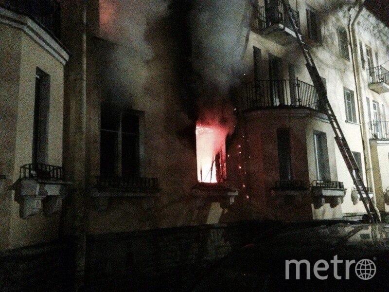 Пожар тушили несколько часов. Фото ДТП/ЧП