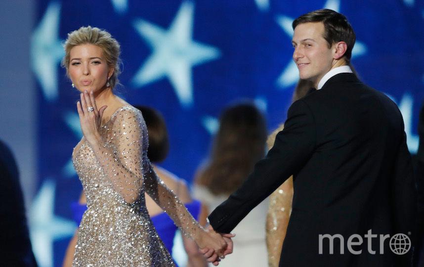 Иванка Трамп со своим супругом. Фото Getty