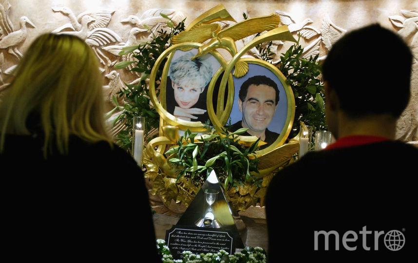 Фотографии Дианы и ее последнего возлюбленного. Фото Getty