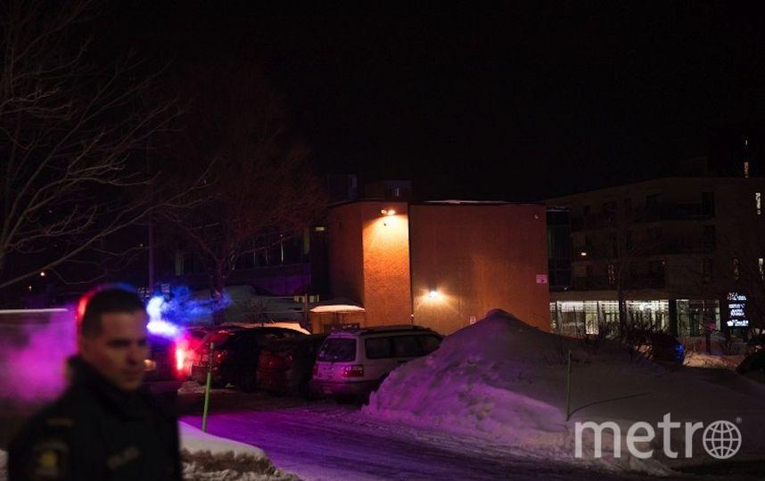 Теракт в Квебеке. Фото AFP