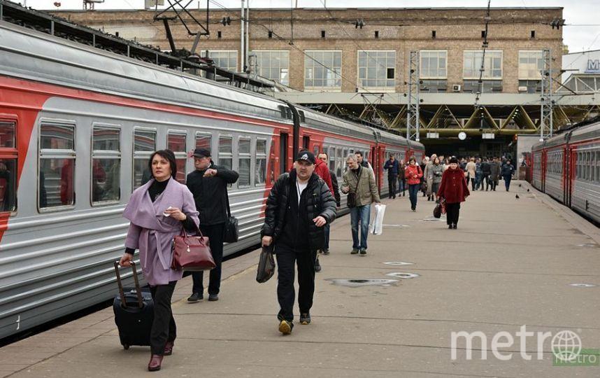 """В результате инцидента вероятна задержка электропоездов на Павелецком направлении Московской железной дороги. Фото """"Metro"""""""