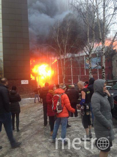 Поделу осмертельном пожаре наскалодроме вПетербурге обвиняются сварщики