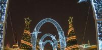 Новогодняя площадка на Кремлевской набережной Казани закроется 29 января