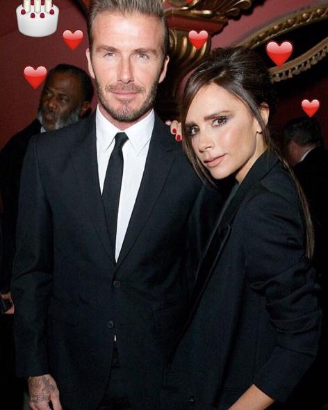 Дэвид и Виктория Бекхэм. Фото instagram/victoriabeckham