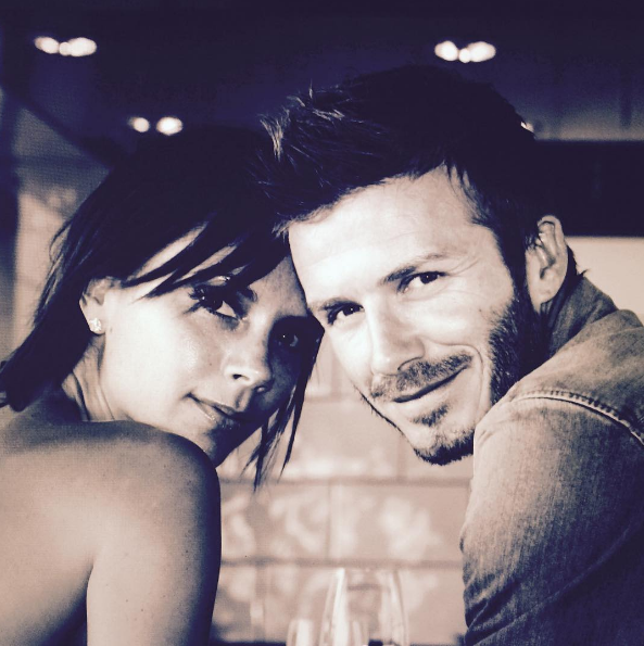 Дэвид и Виктория Бекхэм. Фото instagram/davidbeckham