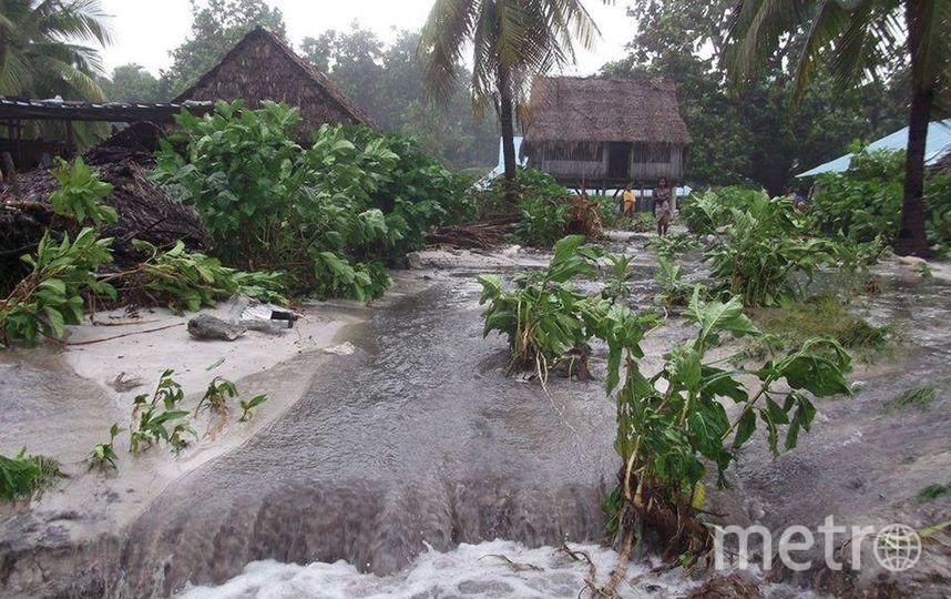 Острова Кирибати постепенно уходят под воду. Фото Getty