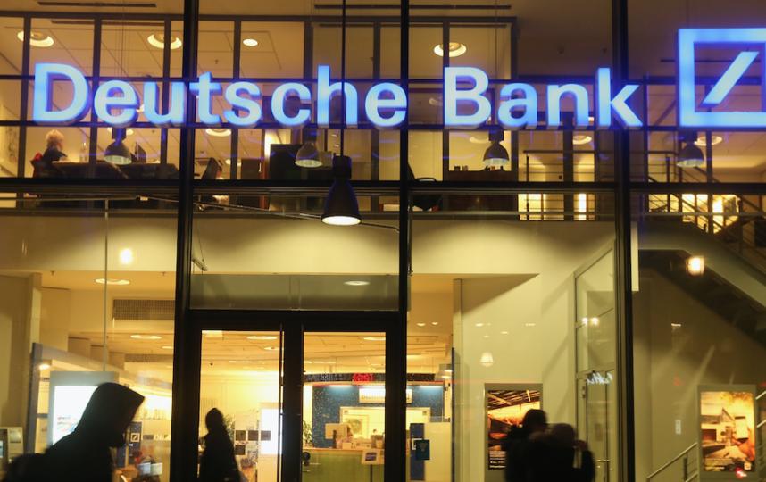 Ранее минюст США объявил о согласии Deutsche Bank выплатить 7,2 миллиарда долларов для урегулирования судебного иска, поданного на основании обвинения в манипуляциях на рынке ценных бумаг в преддверии мирового финансового кризиса. Фото Getty