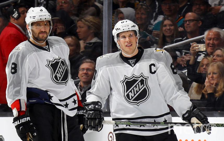 Команда Овечкина выиграла Матч звёзд НХЛ. Фото Getty