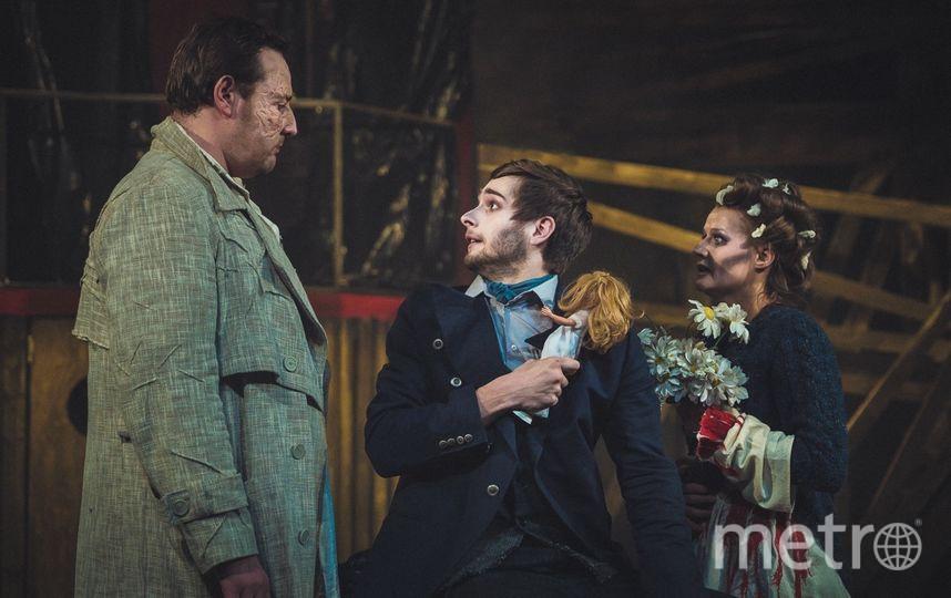 Отношения между персонажами мюзикла напряжены до предела. Фото Фото: предоставлено пресс-службой театра