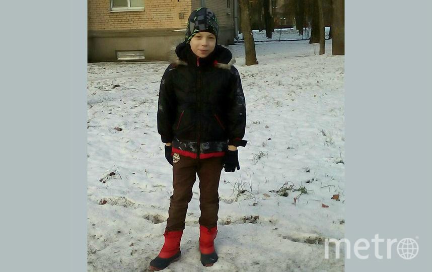 10-летний Женя. Фото vk.com/spb_today